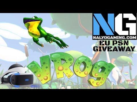 VROG, PlayStation VR Gameplay Episode 1