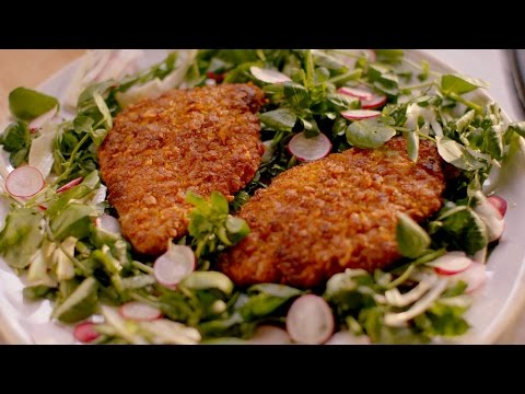 Crunchy chicken cutlets recipe - Simply Nigella: Episode 2 - BBC Two