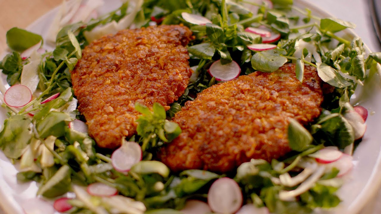 Crunchy chicken cutlets recipe simply nigella episode 2 bbc two crunchy chicken cutlets recipe simply nigella episode 2 bbc two youtube forumfinder Image collections