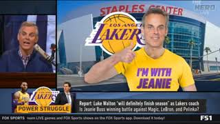 The HERD   Is Jeanie Buss winning battle against Magic, LeBron and Pelinka