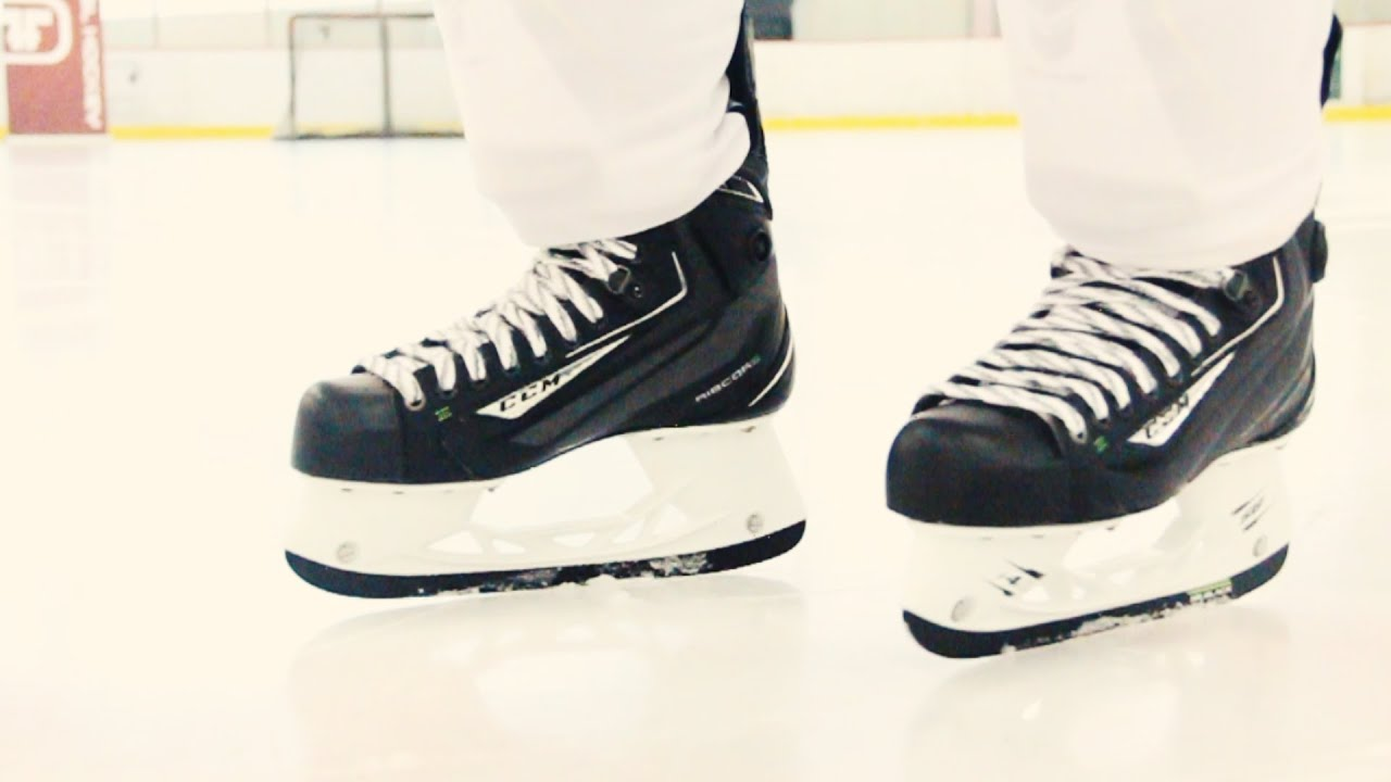 34bc45a2546 CCM Ribcor 50K Skates    On-Ice Review. Total Hockey