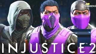Injustice 2: Sub-Zero Epic Gear Showcase! - Injustice 2 Epic Gear Showcase