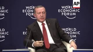 Erdogan opens World Economic Forum special meeting on regional development