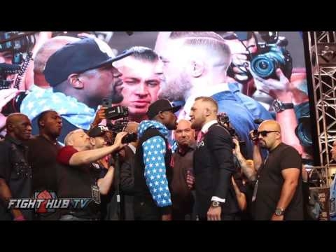 Thumbnail: Full Floyd Mayweather vs Conor McGregor Final Face-off