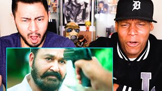 LUCIFER | MOHANLAL | Jungle Fight Scene Reaction