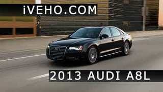 First Test Drive Of The 2013 Audi A8L