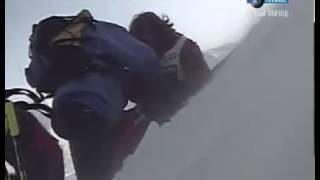 Самое страшное падение с горы!
