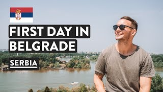 SERBIA WILL SURPRISE YOU! Belgrade First Impressions | Serbia Travel Vlog