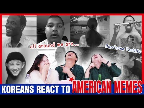 Koreans In Their 30s React To American Memes [ENG Sub]