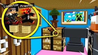 GIANT MINECRAFT HOUSE PARKOUR! (MCPE)
