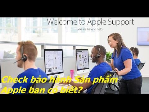 Hướng dẫn check imei cho iPhone iPad và cách liên hệ với bộ phận hỗ trợ của Apple