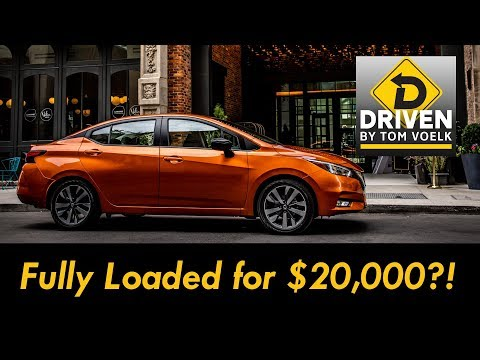 $20,000 For A Fully Loaded Car? The 2020 Nissan Versa SR.
