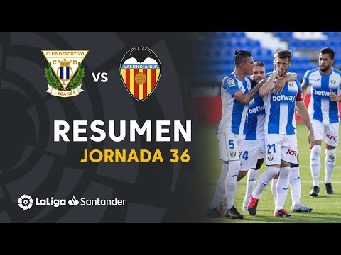 Leganes Valencia Goals And Highlights
