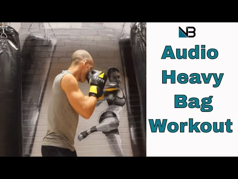 Heavy Bag Punching Bag workout | Audio call outs | Session 2