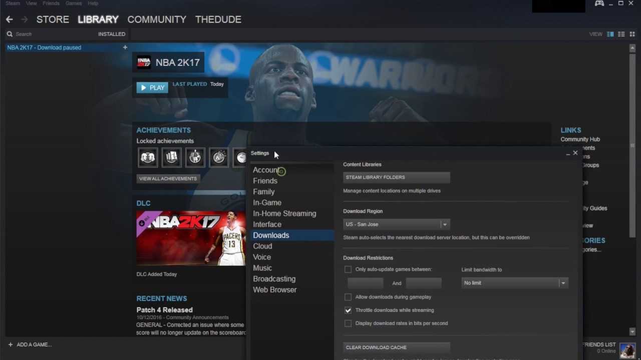 How to clear your steam download cache youtube how to clear your steam download cache ccuart Choice Image