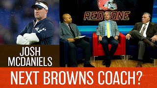 Will Josh McDaniels be the next Cleveland Browns head coach?