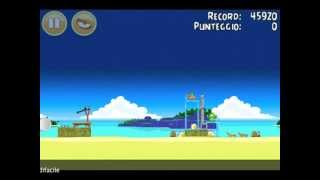 Angry Birds Surf and Turf 1-2 Walkthrough Lösungen 3 stars gameplay video turorial IPhone Galaxy