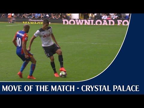 Fantastic 4! Our favourite moves against Palace | ft Erik Lamela's Nutmeg!