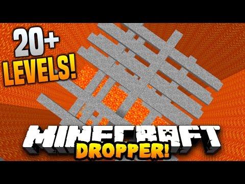 Minecraft LAVA DROPPER!