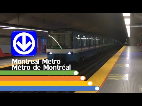 Montreal public transport (vol. 1 - Métro)