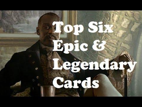 Top 6 Epics & Legendaries In Houses Of Morrowind | Elder Scrolls Legends