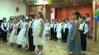 Выпускной в детском саду. Съемка с 2х камер. Москва 2012