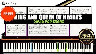 King & Queen of Hearts Piano Tutorial Sheet Music Guide