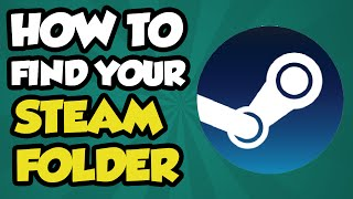 How to find your steam and steam apps folder 2016. This quick video...