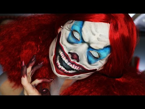 Until Dawn Clown Makeup Tutorial