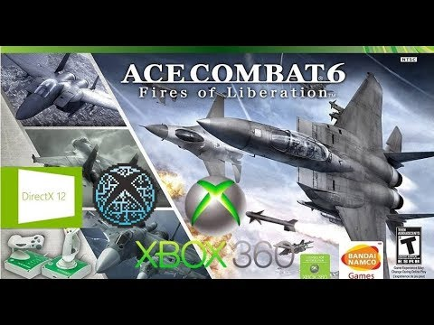 Ace Combat 6 Fires of Liberation - XENIA DX12 XBOX 360 Emulator