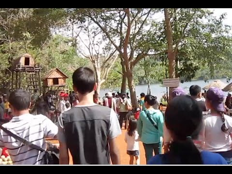 A day at Boeung Yak Loam resort in Ratanakiri province of Cambodia