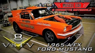 Gas Ronda 1965 A/FX Mustang 427 SOHC at 2015 Muscle Car and Corvette Nationals Video V8TV