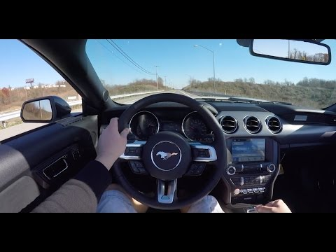 Driving the 2017 Ford Mustang GT California Special Convertible | POV !