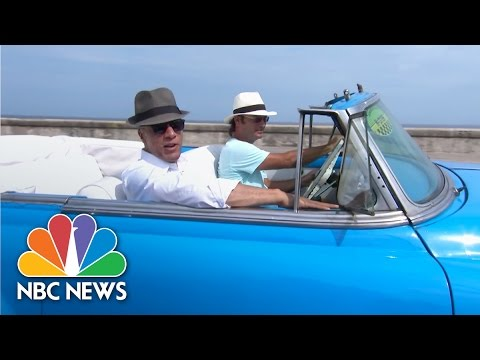 In Havana, Cuba With Airbnb CEO | On Assignment | NBC News