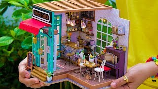 DIY Miniature Doll Coffee Shop