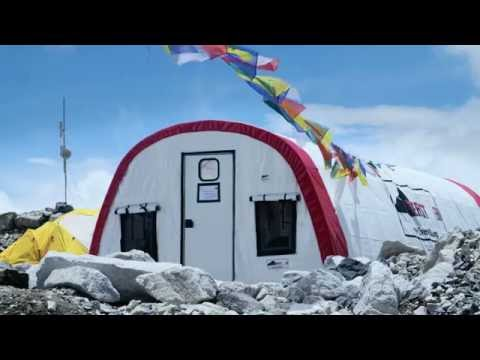 The Everest Base Camp Medical Clinic (Everest ER) in 4K!