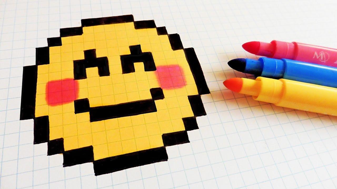 Pixel Art Facile Emoji