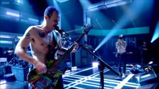 Red Hot Chili Peppers - The Adventures Of Raindance Maggie - Live on Jools Holland 2011 [HD]