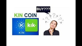 KIN coin, KIN token, KIN review, KIN legit or scam, how to Buy KIN kik coin