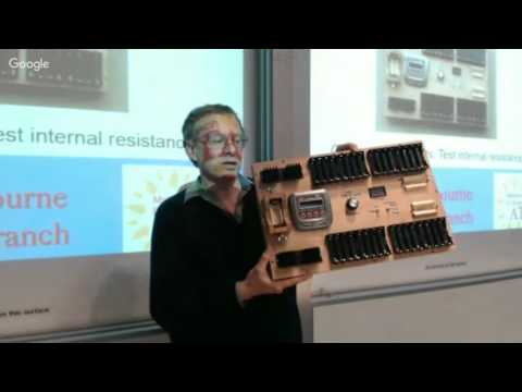 Home Batteries Using Used Laptop Batteries (July Seminar)