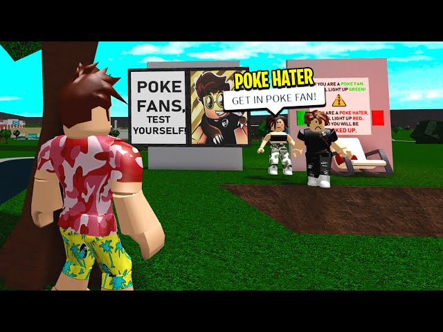 POKE HATERS Captures POKE FANS.. I Had To SAVE HIM! (Roblox)