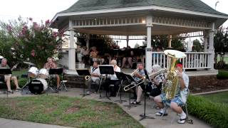 "Claremore Civic Band - Dixieland Group plays ""When the Saints Go Ma..."