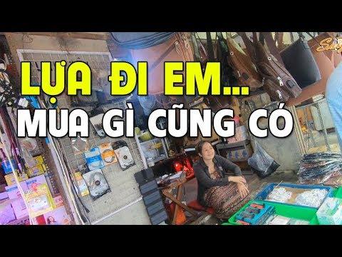 Chợ Nhật Tảo Sài Gòn, Bán Linh Kiện Điện Tử, Loa, Điện Thoại Giá Rẻ như cho