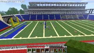 MineCraft - Gillette Stadium