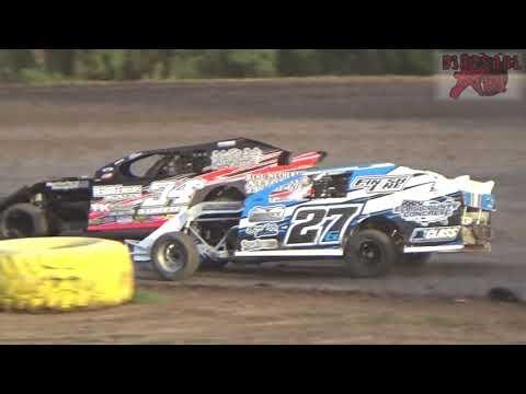Mid America Clash -Night Two- Salina Speedway 9-30-17 Sport Modified Heats