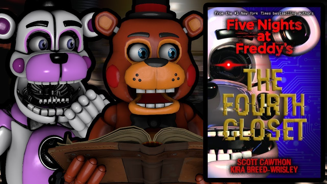 TOY FREDDY AND FUNTIME FREDDY REACT TO: Ultimate Custom Night Office and  Third FNAF Book Revealed!!!