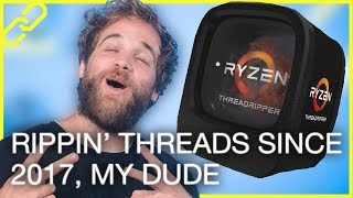 Ryzen Threadripper launches, Facebook Watch, Surface gets dissed