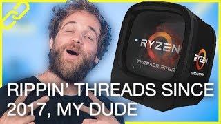 Ryzen Threadripper launches, Facebook Watch, Surface gets dissed