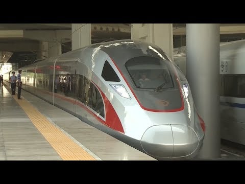 China Launches Fastest Train on Beijing-Shanghai Line