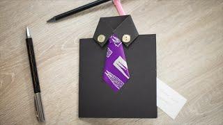 Geburtstagskarte / Gutschein für Männer DIY | schön-einpacken